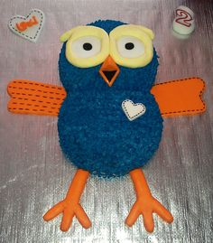 'Hoot' Cake Birthday Parties, Birthday Cake, Cake Ideas, First Birthdays, Cakes, Disney Characters, Cooking, Party, Kids
