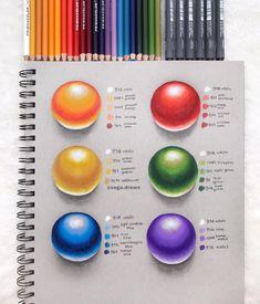 Colour Pencil Shading, Color Pencil Art, Color Blending, Colored Pencil Artwork, Coloured Pencils, Pencil Shading Techniques, Drawing Techniques, Dibujos Zentangle Art, Coloring Tips
