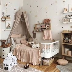 Image in Place collection by Ju. on We Heart It Baby Bedroom, Baby Room Decor, Nursery Room, Room Decor Bedroom, Girls Bedroom, Baby Boy Rooms, Little Girl Rooms, Baby Room Design, Room Inspiration
