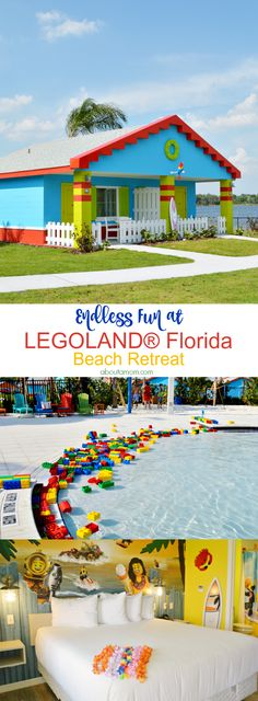 Planning your next Florida vacation? There is an awesome new place to stay when you visit Central Florida! You'll have endless fun at LEGOLAND Beach Retreat now open at the LEGOLAND Florida Resort. AD