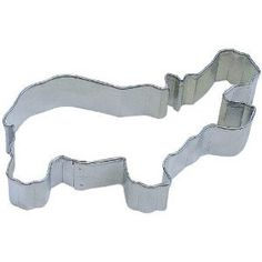 Hippo Cookie cutter 4 inches all I want for Christmas is a hippopotamus on Etsy, $2.75