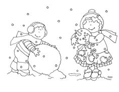 Snowman Fun - Dearie Dolls Digi Stamps | Writing away with Blog.com | Page 10