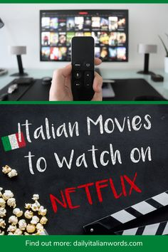 Here are some interesting Italian movies on Netflix you can watch to improve your language skills during the lockdown!