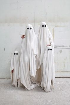 Family of Ghosts// Halloween//
