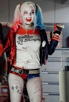 "harleyquinnsquad: ""  ♦ Harley Quinn in the new high resolution images from Suicide Squad """