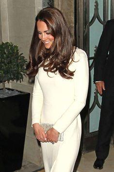 Catherine, Duchess of Cambridge leaves Claridges hotel in London, May 8, 2012.
