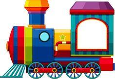 Photo from album Scrapbook Frames, Kids Scrapbook, Preschool Learning, Preschool Activities, Train Clipart, Train Cartoon, Art Transportation, School Labels, Teacher Created Resources