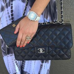 We've got a crush on Chanel and Charriol! Shop all handbags, shoes & accessories on www.mymoshposh.com! #Chanel #crushingonchanel #chanelhandbags #chaneljewelry #cc #charriol #charriolwatch #fashion #luxury #trendy #bagsofTPF #purseblog #purseforum #purselover #moshposhfinds #mymoshposh #designerconsignment
