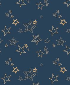 Voile Fabric - Art Gallery Fabrics - Midnight Roof Metallic Wild & Free by Maureen Cracknell Angel Ornaments, Holiday Ornaments, Holiday Decorations, Navy Background, Golden Star, Art Gallery Fabrics, Fabric Art, Cotton Fabric, Navy Fabric