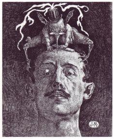 Julio Ruelas - Las Critica, 1906 by Aeron Alfrey, on Flickr
