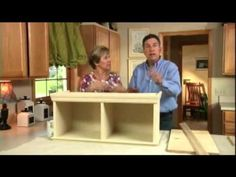 Upper Cabinets for Kitchens without Soffits - Matt and Shari