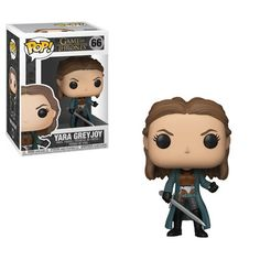 Funko Pop Game of Thrones Yara Greyjoy Pop! Vinyl Figure HBO's Game of Thrones comes the Game of Thrones Yara Greyjoy Pop! Vinyl Figure This vinyl figure measures approximately 3 tall. It comes packaged in a window display. Game Of Thrones Figures, Funko Game Of Thrones, Pop Game Of Thrones, Game Of Thrones Quotes, Game Of Thrones Funny, Game Of Thrones Wallpaper, Emo, Chibi, Children Of The Forest