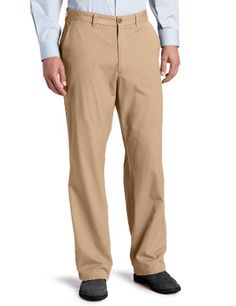 Dockers Men's Soft Khaki D3 Classic Fit Flat Front Pant