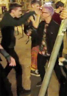 vlog Tyler Oakley troye sivan funforlouis kiss? troyler troyler feels