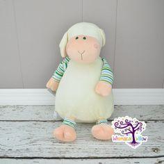 Lamb Pastel Stuffed Animal Cubbie