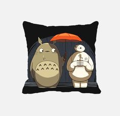 Hello I am Baymax,totoro, i am groot new friends pillow cases #Modern