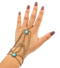 Checkout our #awesome product Howlite Bead Hand Chain Bracelet and Ring Set / Hand Chain Bracelet / AZFJSBB142-GTR - Howlite Bead Hand Chain Bracelet and Ring Set / Hand Chain Bracelet / AZFJSBB142-GTR - Price: $55.00. Buy now at http://www.arrascreations.com/howlite-bead-hand-chain-bracelet-and-ring-set-hand-chain-bracelet-azfjsbb142-gtr.html