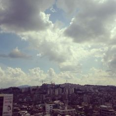 hangvely / #seoul #하늘 #sky #구름 #cloud #Ntower #남산타워 오늘은 남산타워가 잘보인당 #24 #365 야작은 아니구!!!!! D-25 / 서울 성북 돈암 / #골목 #동네 #하늘 / 2013 08 15 /