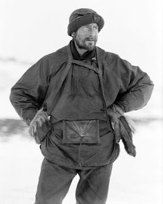 Edward Adrian Wilson wearing a sledging outfit in the Ross Dependency of Antarctica, during Captain Robert Falcon Scott's Terra Nova Expedition to the Antarctic, April Get premium, high resolution news photos at Getty Images Cthulhu, Robert Falcon Scott, Captain Scott, Roald Amundsen, Arctic Explorers, Heroic Age, Terra Nova, Burberry, Mountaineering