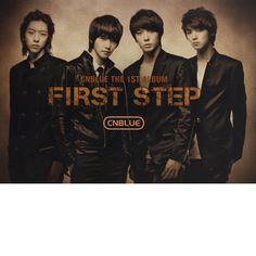 CNBlue First Step Poster | KpopHeaven