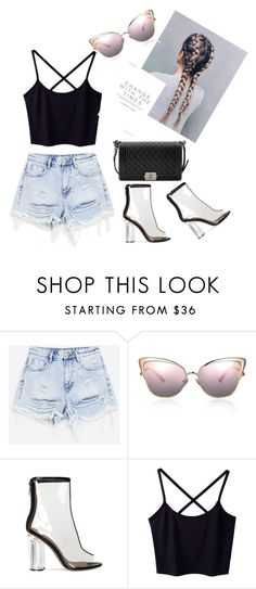 """""""Untitled #3"""" by emminna ❤ liked on Polyvore featuring Chanel"""