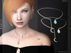 BLUE MOON NECKLACE at SERENITY • Sims 4 Updates