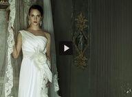 #asiaargento for #albertaferretti #bridal #collection #wedding #bride #acttress #video #fashion #dress