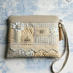 No tutorial or pattern but really nice scrap buster project.