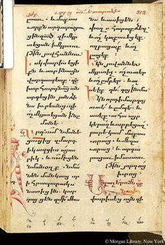 Gospel book, MS M.749 fol. 176v - Images from Medieval and Renaissance Manuscripts - The Morgan Library & Museum