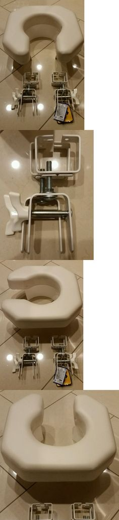 Toilet Seats: Vaunn Medical Elevated Raised Toilet Seat And Commode ...