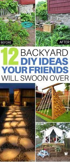 Diys travel natural remedies and recipes these 12 backyard diy ideas are insane i am so freaking envious backyard solutioingenieria Images