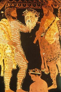 Greek vase depicting Greek actors in costume Wood Vase, Metal Vase, Vase Centerpieces, Vases Decor, Wall Vases, Paper Vase, Vase Crafts, Black Vase, Greek Art