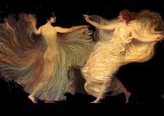 Franz Von Stuck (1863-1928) - Dancers