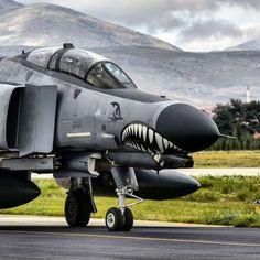 dannikingg: Phantom II Terminator 2020 variant of the Turkish Air Force . Military Jets, Military Aircraft, Air Fighter, Fighter Jets, F4 Phantom, Military Pictures, Jet Plane, Bomber Plane, Military Equipment