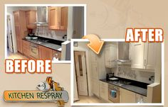 The appearance of the kitchen will be brightened immediately, the process will be completed fast and it's going to be incredibly cost-efficient. Remember that choosing the right professionals for the job will be the key to making the most of the project. contact us at Kitchen Respray