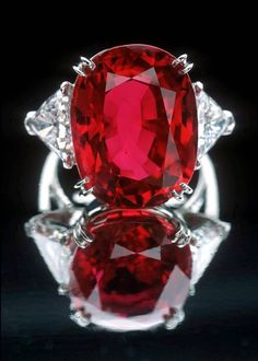 Healing properties of Ruby. Ruby is the birthstone for July. Ruby is a zodiac stone for Aries, Cancer, Leo, Scorpio, and Sagittarius. Ruby is a gemstone for the base chakra and heart chakra. Ruby is also found in Anyolite (Ruby Zoisite) and Ruby Fuchsite. Ruby Jewelry, Fine Jewelry, Jewellery, Monies Jewelry, Larimar Jewelry, Soutache Jewelry, Jewelry Rings, Oriflame Cosmetics, Ruby Gemstone