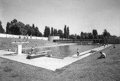 "Maastricht. Waldeckpark. Zwembad ""Jekerdal"", herenbad."