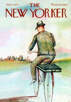Newyorker cover, Paul Degen, 1974