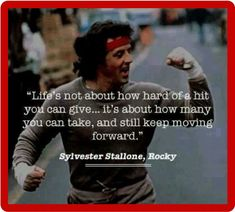 $5.5 - Rocky Balboa Sylvester Stallone Quote Refrigerator / Tool Box Magnet #ebay #Collectibles