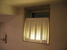 faux windows in basement   Fake basement windows?