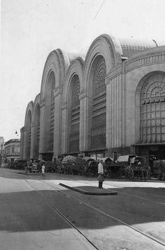 Mercado del Abasto, Buenos Aires, 1952.