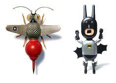 odd art toys by Sang Won Sung