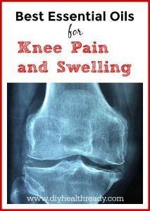 best essential oils for knee pain and swelling