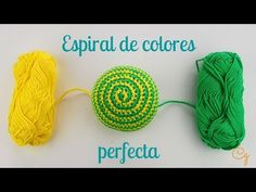 Amigurumi made with love in Barcelona. Crochet patterns and other crafts/ Amigurumi hechos con amor en Barcelona. Talleres y patrones de ganchillo Crochet Videos, Crochet Toys, Free Crochet, Crochet Baby, Knit Crochet, Crochet Doilies, Crochet Stitches, Crochet Patterns, Change Colors In Crochet