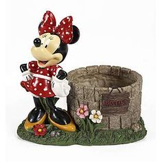 Disney  Minnie Mouse Wishing Well-from Shirley! On the front porch with Mickey!