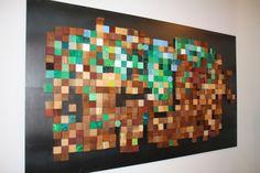 Mosaic-like art/ children's room?