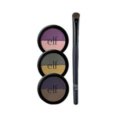 e..f. Bold Beauty Eye Set  .42oz, Multi-Colored ($5) ❤ liked on Polyvore featuring beauty products, makeup, eye makeup, eyeshadow, colorful eye makeup, colorful eyeshadow, eyeshadow brush, hair brush and eye shadow brush