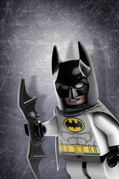 Lego Batman Poster / Wall Art.  Custom made Kids Room Decor Photo Art Gifts
