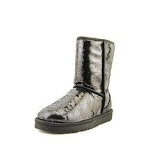UGG Women's Classic Short Sparkles Boot ** Read more reviews of the product by visiting the link on the image.
