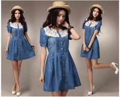 2013 Summer Fashion Collection Dress 1736 - Dresses - korean japan fashion clothes dresses wholesale women